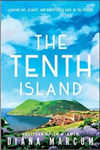A photo of the book cover for The Tenth Island, a book by Diana Marcum.