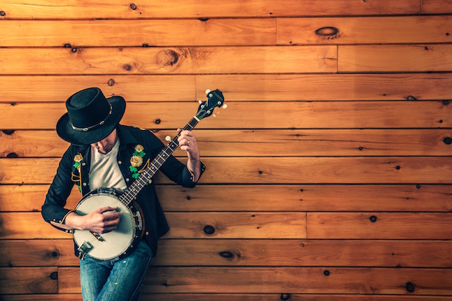 When I'm Not Writing, I'm Playing Banjo!
